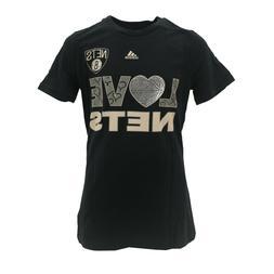 Brooklyn Nets Official NBA Adidas Apparel Kids Youth Girls S
