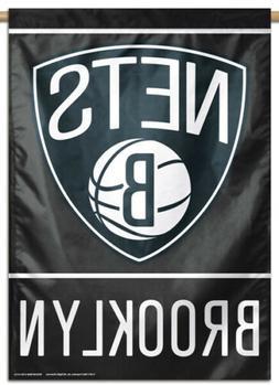 BROOKLYN NETS Official NBA Basketball Team Premium 28x40 BAN