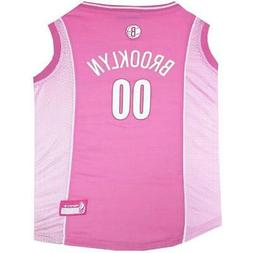 Brooklyn Nets Pink Pet Jersey