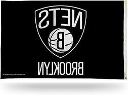 Brooklyn Nets Premium 3x5 Flag w/Grommets Outdoor House Bann