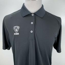 Adidas Brooklyn Nets Puremotion Polo Short Black NBA Size Me