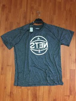 Brooklyn Nets T-Shirt Ultimate Size 2XL Adidas 100% Polyeste