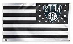 brooklyn nets wc stripes americana premium 3x5