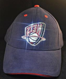 Brooklyn Nets Women's Crystal Bling Baseball Hat Cap