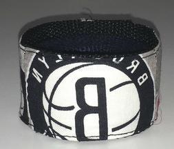 Brooklyn Nets Wristband Bracelet Pro Basketball Team Fan Gam