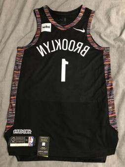 D'Angelo Russell Nike Authentic City Edition Jersey 44 M B