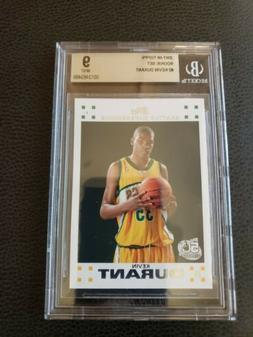 KEVIN DURANT 2007-08 TOPPS #2 MINT BGS 9 NETS WARRIORS SONIC