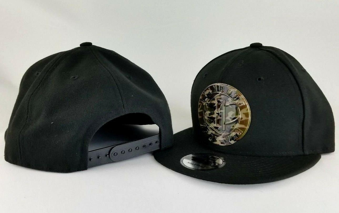 New Nets Metal Army Logo 9Fifty hat