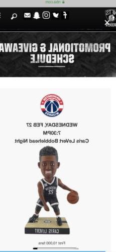 BROOKLYN NETS CARIS LEVERT BOBBLEHEAD SGA NBA Bobble Head Mi