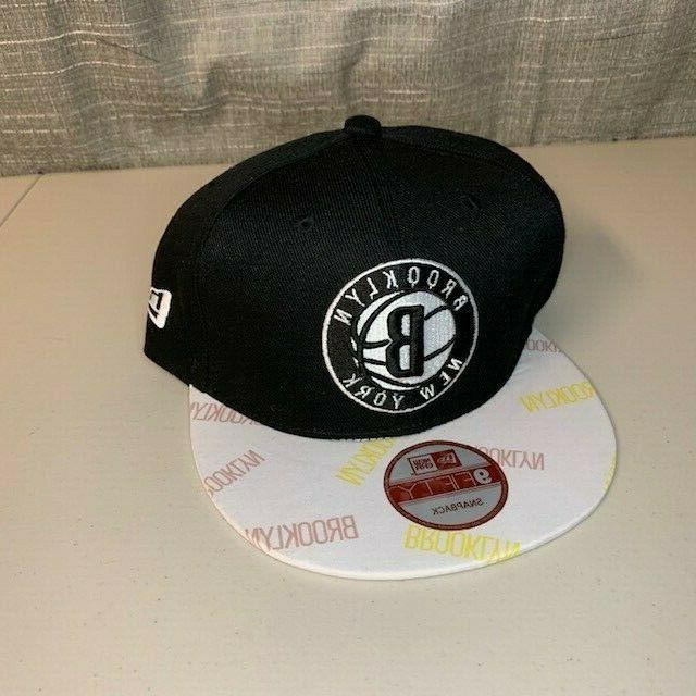 brooklyn nets 9fifty snapback hat baseball cap