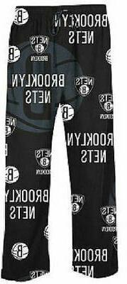 Brooklyn Nets Black Keynote NBA Mens Pajama/Lounge Pants