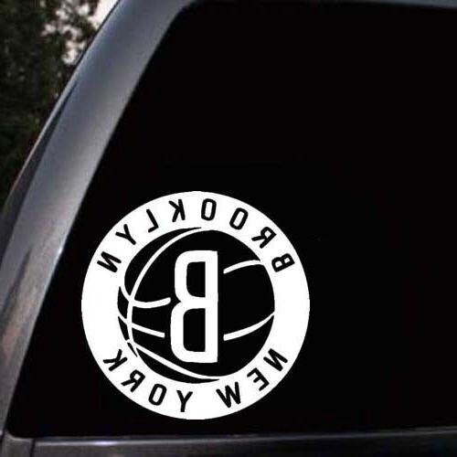 brooklyn nets car window laptop wall truck