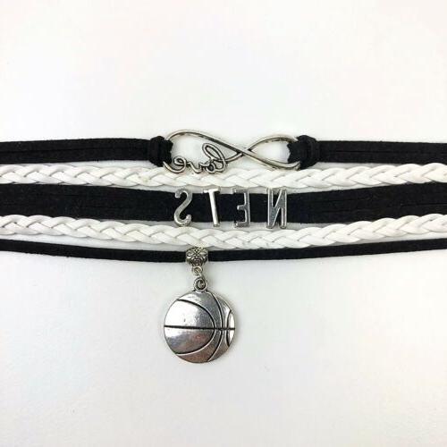 Brooklyn Nets Bracelet Faux