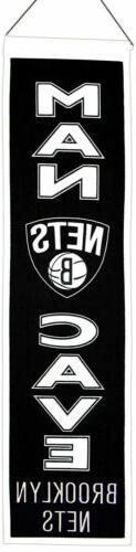 Brooklyn Nets Man Cave Banner 3003
