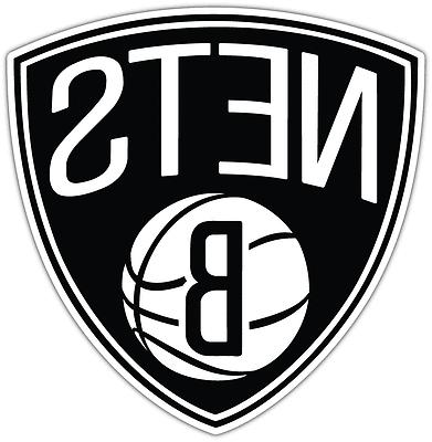 brooklyn nets nba basketball bumper window locker
