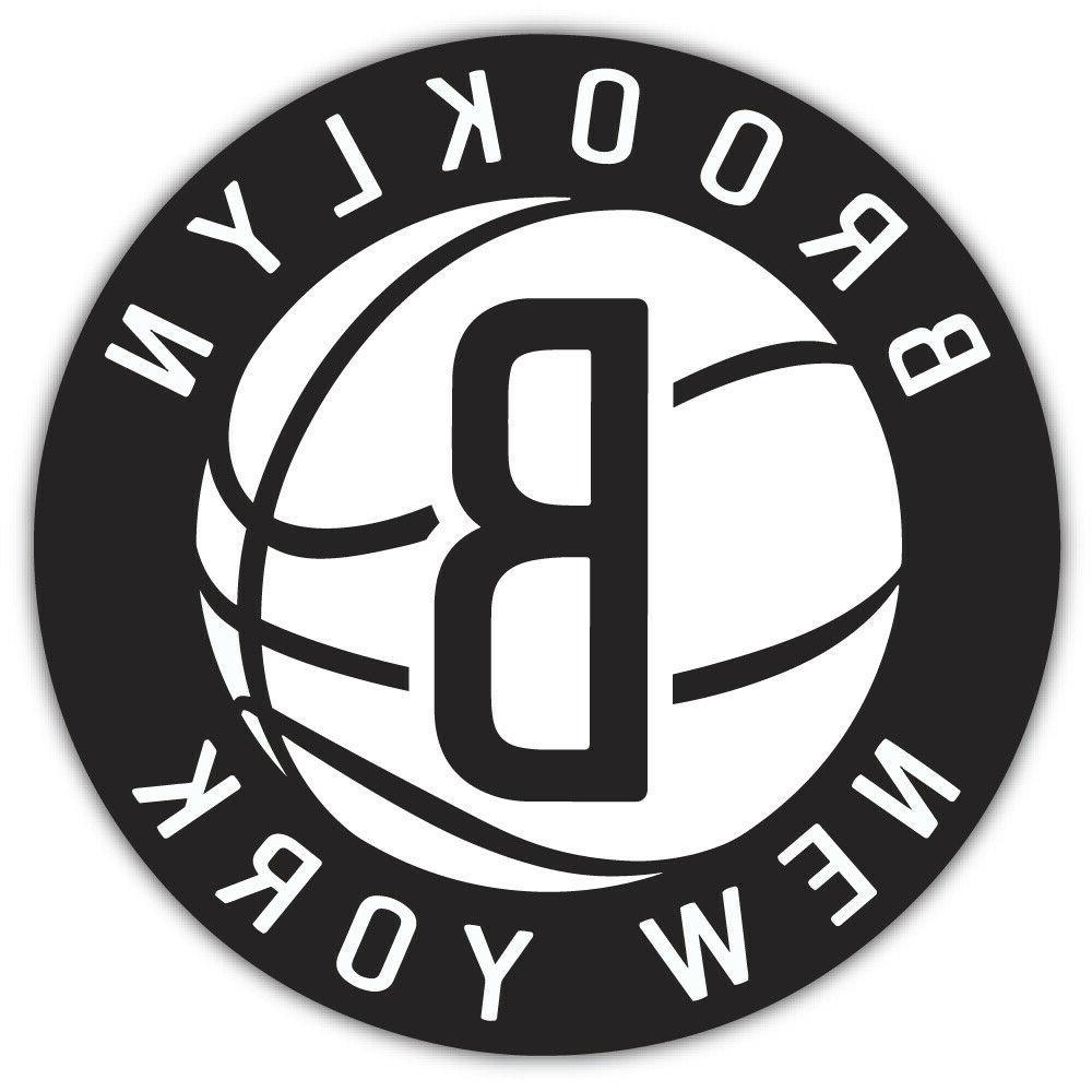 brooklyn nets nba basketball car bumper sticker