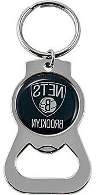 Brooklyn Nets NBA Bottle Opener Keychain