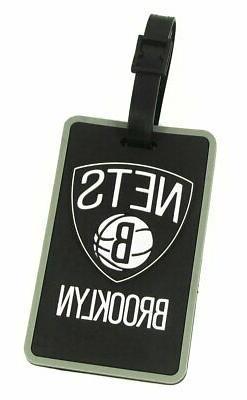 aminco Brooklyn Nets - NBA Soft Luggage Bag Tag