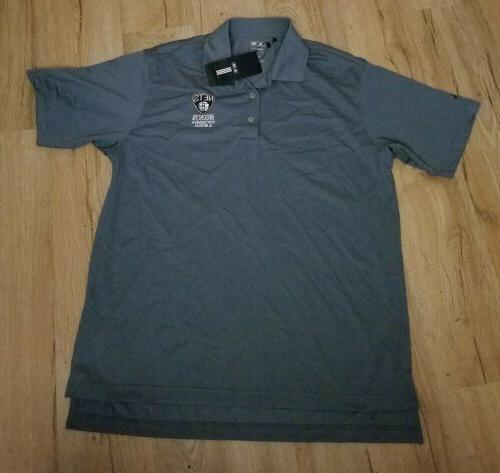 brooklyn nets performance and medical polo shirt