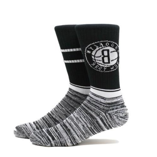brooklyn nets pkwy socks new large 6