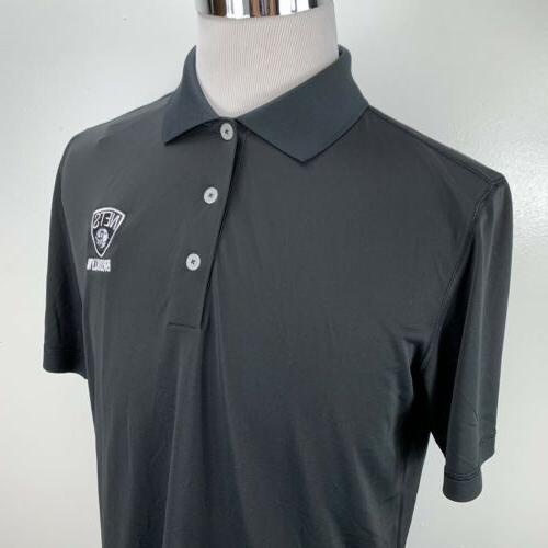 Adidas Polo Black NBA Size $55