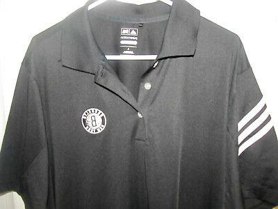 brooklyn nets team polo shirt adult large