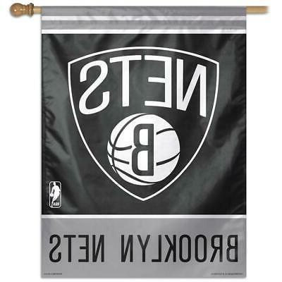 brooklyn nets vertical outdoor house flag