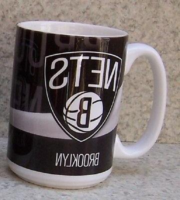 coffee mug sports nba brooklyn nets new