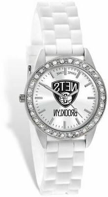 Ladies NBA Brooklyn Nets Frost Watch