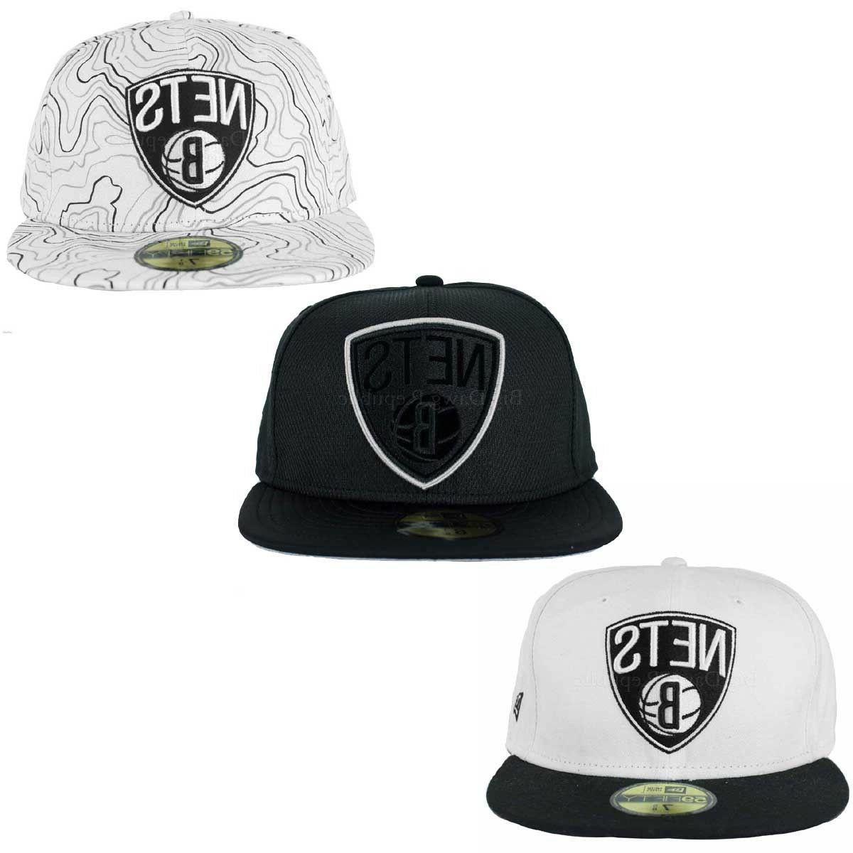 nba 59fifty brooklyn nets fitted baseball caps