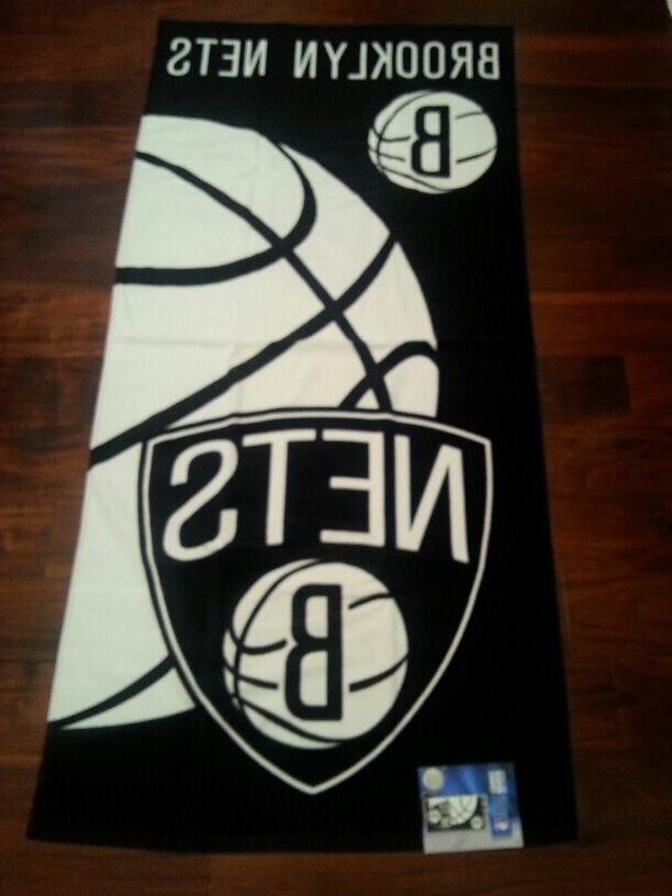 NBA BROOKLYN NETS Towel 28 Fiber NBA