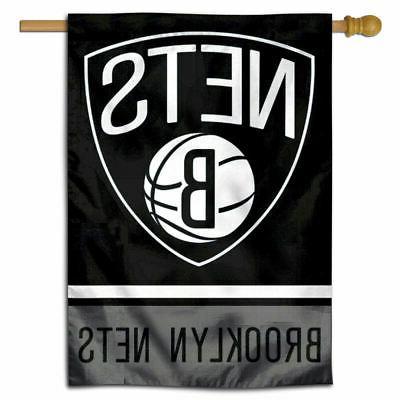 nba brooklyn nets house flag and banner