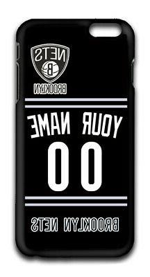 NBA Brooklyn Nets Personalized Name/Number iPhone iPod Case