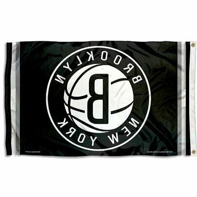 nba new jersey nets flag