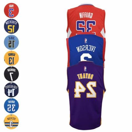 nba official replica basketball player jersey collection