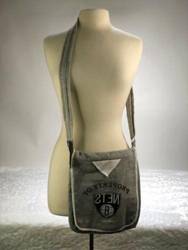 nba store brooklyn nets crossbody bag purse