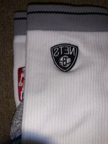New NBA Nets Basketball Socks Retail $26