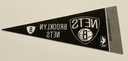 new nba brooklyn nets mini pennant flag