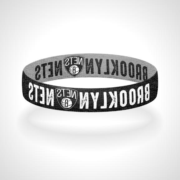 reversible brooklyn nets bracelet wristband brooklyngrit
