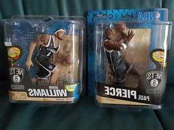 McFarlane Brooklyn Nets figures Paul Pierce Deron Williams C