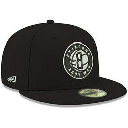 NEW ERA MEN'S BROOKLYN NETS NEW YORK 59FIFTY FITTED HAT !! B