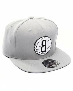 Mitchell & Ness Brooklyn Nets Grey BasketBall High Crown Fit