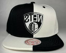 Mitchell and Ness NBA Brooklyn Nets 4 Way Split Snapback Hat