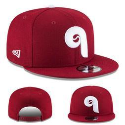 New Era Philadelphia phillies Snapback Hat Official Classic