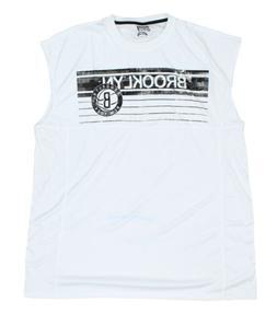 NBA Big Men's Brooklyn Nets Muscle Tee Shirt, White