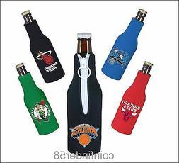 NBA Bottle Cooler Koozie Drink Holder- Pick Team