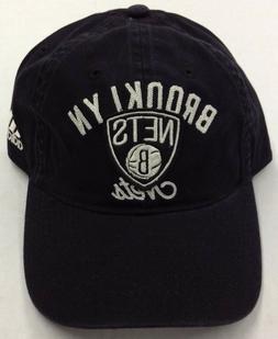 NBA Brooklyn Nets Adidas Buckle Back Cap Hat Beanie Style #E