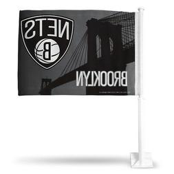 Official NBA Brooklyn Nets Car Flag 697457