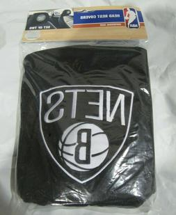 NBA Brooklyn Nets Head Rest Covers Set of 2 Embroidered Team