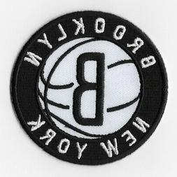 NBA Brooklyn Nets Iron on Patches Embroidered Patch Badge Em